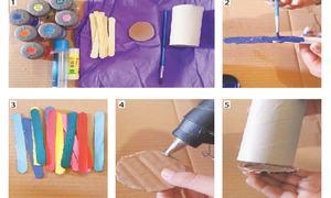 Wonder Craft: Ice cream sticks pencil holder