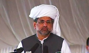 Compete with PML-N in development projects, PM Abbasi challenges opponents
