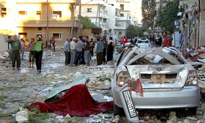 At least 25 killed in Syria car bombing