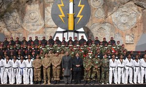 PM Abbasi, army chief visit SSG headquarters in Cherat