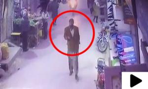 زینب کو قتل کرنے والے مبینہ ملزم کی نئی ویڈیو