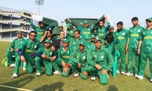 بلائنڈ کرکٹ ورلڈکپ: پاکستان کا ریکارڈ،آسٹریلیا کو 394 رنز سے شکست