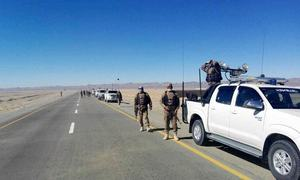 5 security personnel martyred in Balochistan as vehicle turns over after ambush