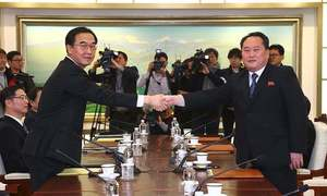Pakistan welcomes talks between North and South Korea