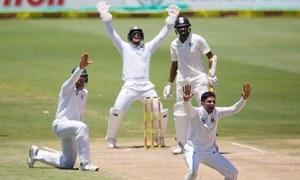 جنوبی افریقہ اور بھارت کے درمیان سنچورین ٹیسٹ میں نئی تاریخ رقم