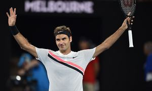 "Be yourself in front of the press, Federer advises sports' ""robots"""