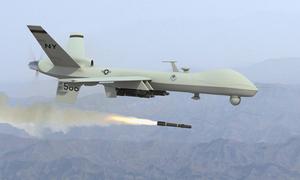 Drone strikes on both sides of Pak-Afghan border kill 2, injure 1 suspected militant