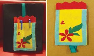 Wonder Craft: Notebook penholder