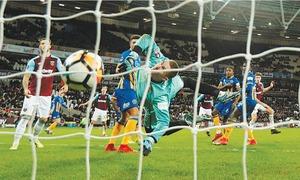 Leicester through as Iheanacho scores first VAR goal in England
