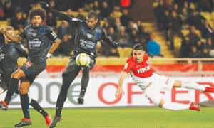 Marseille move up to second as Monaco held by Nice