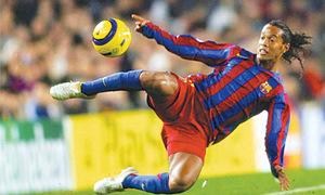 Brazil great Ronaldinho retires from football