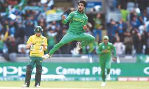 Hasan Ali named 'Emerging Player of the Year' in ICC Awards 2017