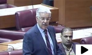 پارلیمنٹ کوگالی دینے سے اقتدارنہیں ملے گا،خواجہ آصف