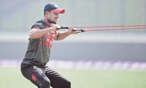 Sri Lanka sweat over Mathews fitness for Bangladesh tie