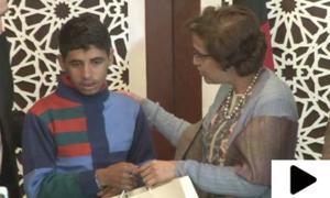 دفتر خارجہ کی کوششوں سے افغان بچہ اپنے خاندان سے جا ملا