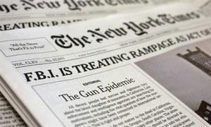 نیویارک ٹائمز پر 102 سال تک کی جانے والی غلطی