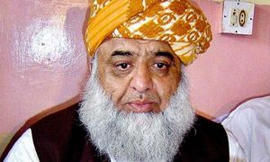 Fazl discusses KP assembly's 'expected' dissolution with Zardari, Shahbaz