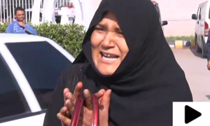پولیس مقابلے میں بھائی کی ہلاکت پر بہن سراپا احتجاج