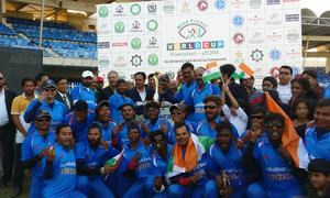 India beats Pakistan by 2 wickets to claim Blind Cricket World Cup title