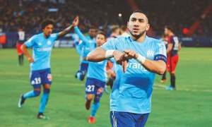 Payet, Thauvin fire Marseille to second spot