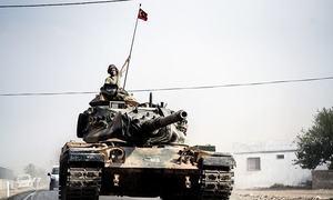 Qatar backs Turkey's military action against Kurds