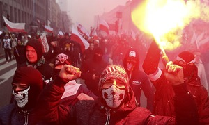 3 neo-Nazis charged in Poland for celebrating Hitler's birthday