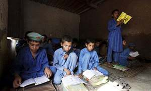 KP govt takes notice of objectionable content in curriculum of Afghan refugee schools