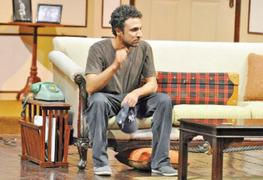 LIVING COLOURS: 'The experience of acting in theatre and film is very different'