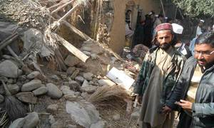 US drone strike targeted terrorists hiding in refugee complex, ISPR says, pushing for repatriation