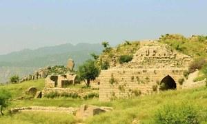 ضلع بونیر میں 'رانی گٹ' کے 2ہزار سال قدیم آثار