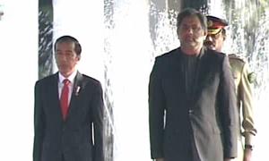 PM Abbasi urges Indonesia's president to release Zulfiqar Ali
