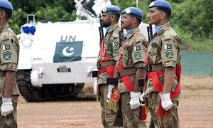 Pakistani peacekeeper killed 'by members of an armed group' in Congo
