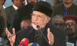 Qadri shelves protest policy, seeks legal solution to Model Town incident