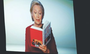 Clinton joins  Trump-mocking skit at Grammys, reads excerpt from Fire and Fury