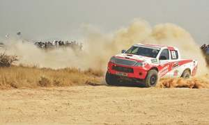 Ronnie, Mansoor excel to bag top honours in Hub Rally