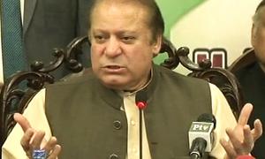 Will make Karachi a city the world admires, Nawaz promises