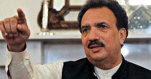 Rehman Malik wants Benazir's assassins brought back from Afghanistan