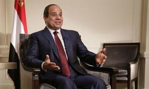 'مصری حکومت نے اسرائیل کو خفیہ فضائی حملوں کی اجازت دی'