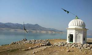 When water at Tarbela recedes, Bharukot Fort emerges to reveal an eventful history spanning centuries