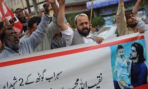 محسود قبائل کی وزیر اعظم سے ملاقات: نقیب اللہ کے قاتل کی گرفتاری کا مطالبہ
