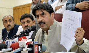 ECP dismisses Imran Khan's petition against Ziaullah Afridi