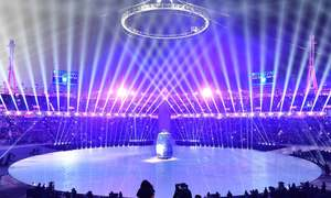 سرمائی اولمپکس کی تاریخی افتتاحی تقریب