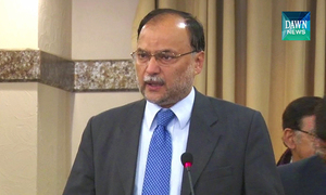 Ahsan for revival of structured talks with US