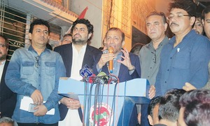 Amir-led group holds out olive branch to MQM-P convener