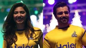 Mahira Khan and Hamza Ali Abbasi are now Peshawari Zalmi ambassadors