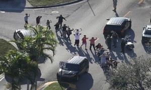 امریکا: اسکول میں فائرنگ سے 17 طالب علم ہلاک
