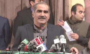 Move to stop Sharif from going abroad 'unfair': Saad