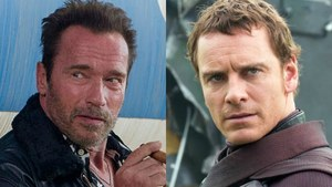 Arnold Schwarzenegger and Michael Fassbender are teaming up for Kung Fury