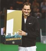 Federer at 36 becomes world's oldest No.1