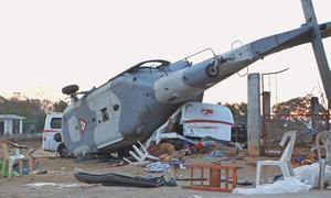 13 killed in minister's quake zone copter crash in Mexico